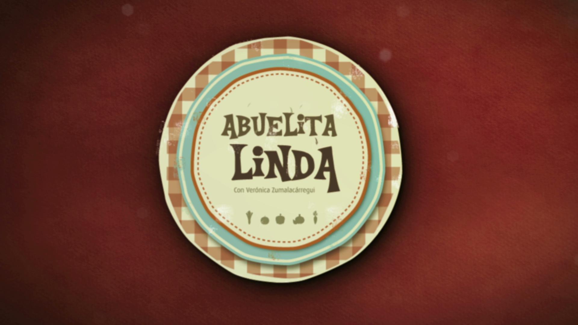 """Cabecera del programa de cocina """"Abuelita Linda"""""""