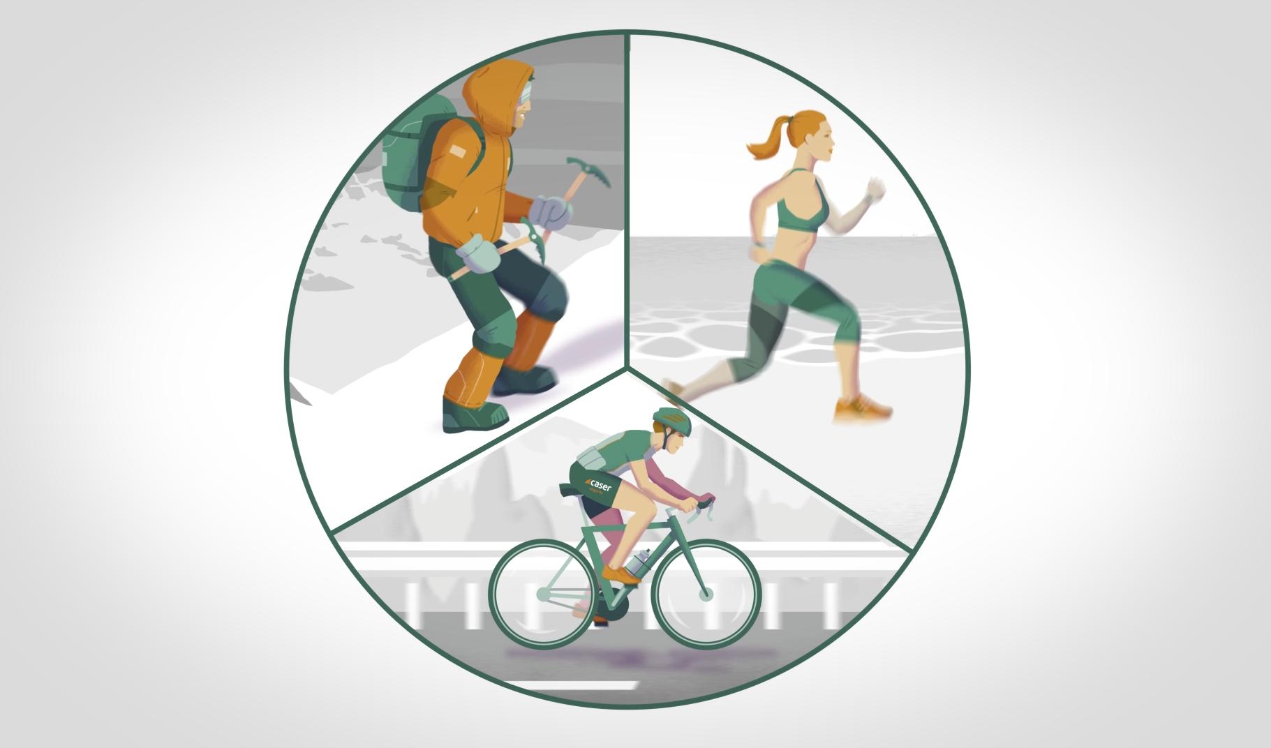 Caser seguro deportistas
