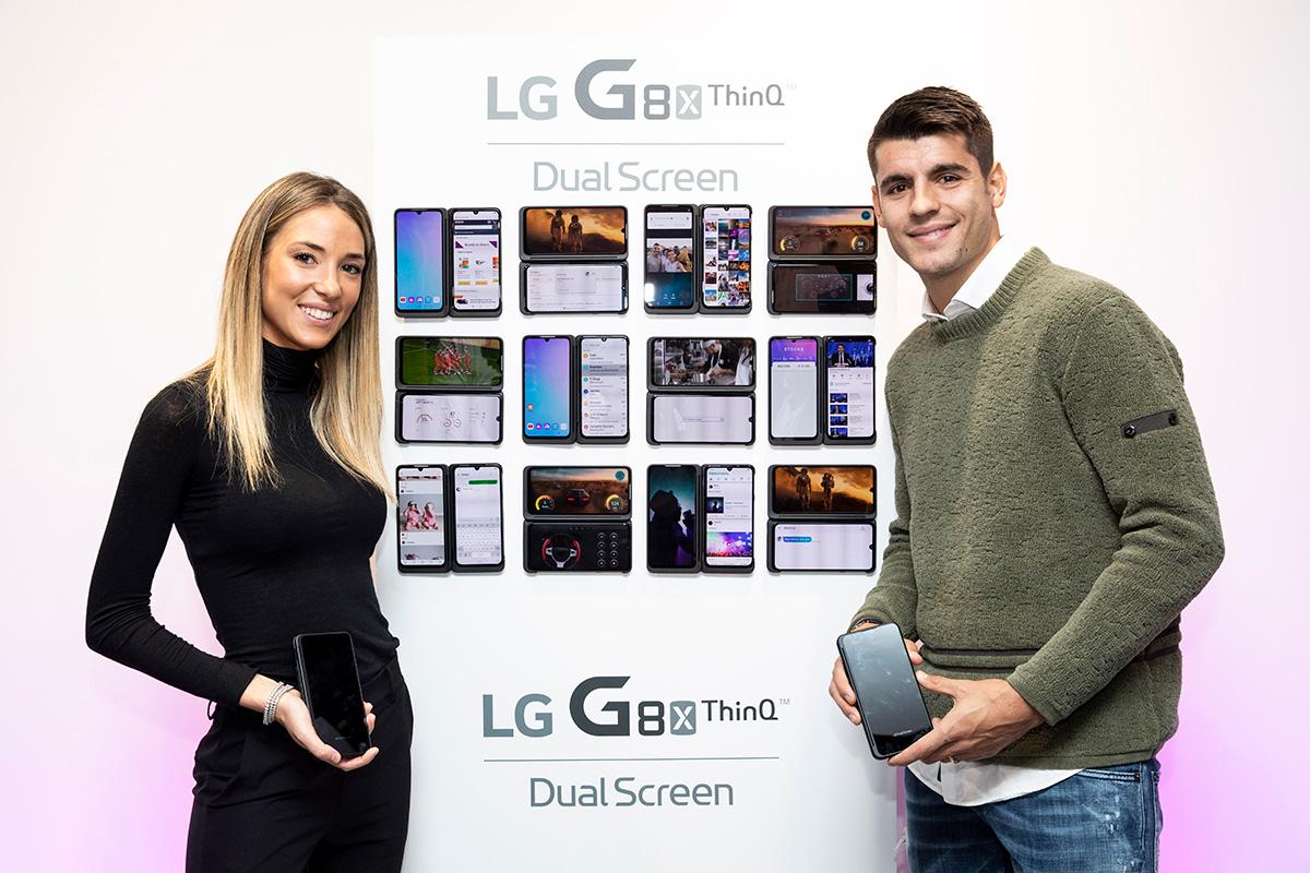 Lanzamiento del móvil LG G8X