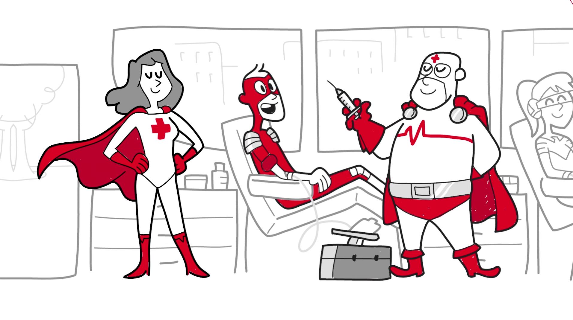 Vídeo animación para aniversario Cruz Roja
