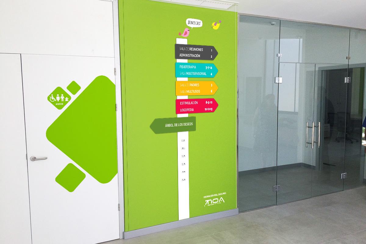 Diseño y decoración Centro Aspadir