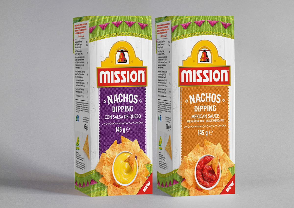 Diseño Packaging  Mission Mexican & Mexi Foods