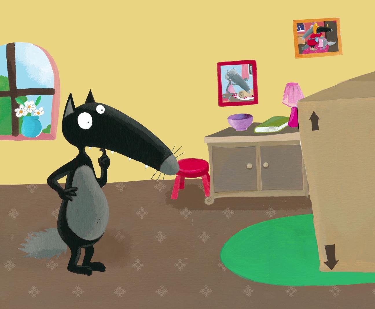 Animación libro infantil El lobo